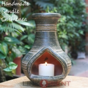 Terracotta Candle Chimenea - CC004